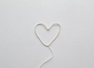 srce - žica+vuna